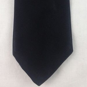 "Robert Talbott Black Silk Tie 60"" x 4"""